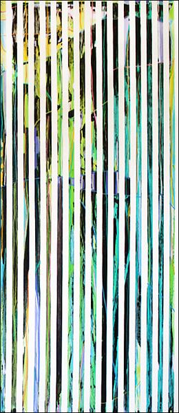 Joana Gomes, Stripes, 2016. Técnica mista sobre tela, 180 x 80 cm