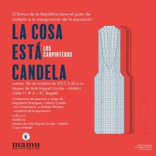Los Carpinteros. La cosa está candela. Imagen cortesía Banco de la República Colombia