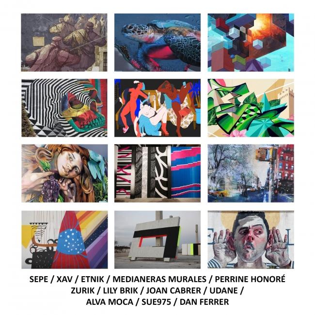 Convocatoria para el 12+1 de l'Hospitalet | Ir al evento: 'Convocatoria para el 12+1 de l'Hospitalet'. Concurso de Arte en vivo, Arte urbano, Artes gráficas, Diseño, Pintura