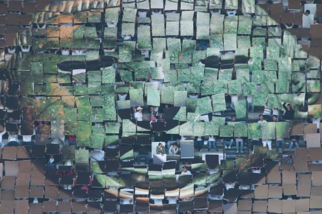 Melanie Smith y Rafael Ortega, Aztec Stadium, 2010. HD Video 10.29 min. – Cortesía del Museu d'Art Contemporani de Barcelona (MACBA)