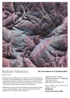 Rafael Morera. Relieves