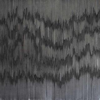 Joan Saló, Untitled, 2015. Acrílico sobre tela, 70x70 cm.