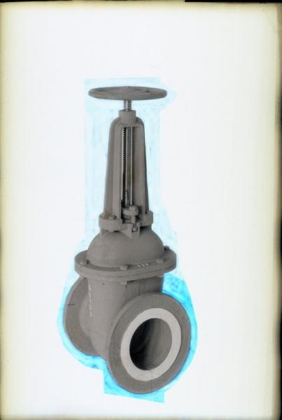 Válvula hidráulica. 1940/50. © Generalitat. Arxiu Gràfic de la Conselleria d'Educació, Investigació, Cultura i Esport. Foto: Sanchis