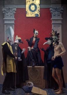 Andrés García Ibáñez, Pala de Venecia 2003. Coleccion Museo Ibáñez