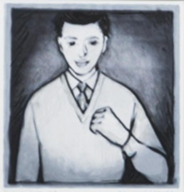 Alicia Mihai Gazcue. Lado izquierdo II. 2016 – Cortesía de Espacio Mínimo | Ir al evento: 'Para ser preciso'. Exposición en Espacio Minimo / Madrid, España