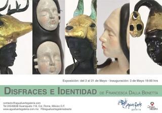 DISFRACES E IDENTIDAD. Imagen cortesía Aguafuerte Galería
