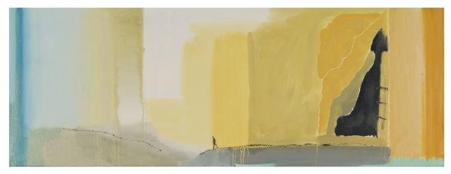 Pelayo Ortega, Josafat. Óleo sobre lienzo, 2017 Foto: M.Blanco – Cortesía de la Galería Marlborough