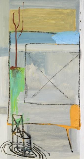Pelayo Ortega, Taller X, 2017. MOM 27669. Foto: M.Blanco – Cortesía de la Galería Marlborough | Ir al evento: 'El rostro triste y el corazón feliz'. Exposición en Marlborough / Madrid, España