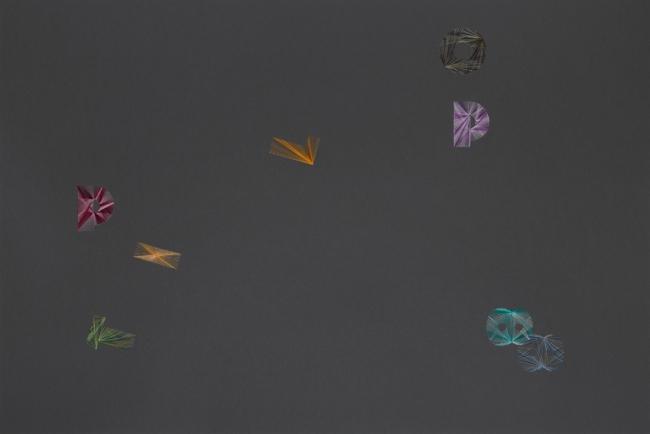 Pae White. Grayscape Double 8, 2018, 60,96x91,44 cm. – Cortesía de la Galería Elvira González