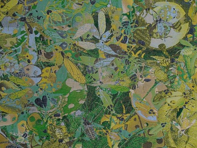 Pae White. Tapices 2 (detalle) – Cortesía de la Galería Elvira González