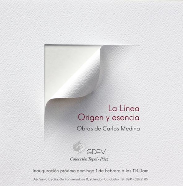 La Línea. Origen y esencia. Obras de Carlos Medina