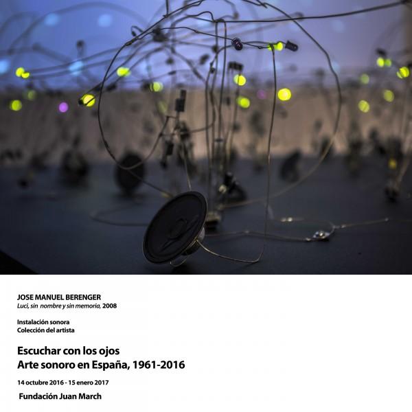 ARTE SONORO EN ESPAÑA (1961-2016)