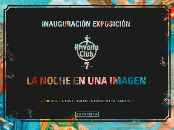 Havana Club 7. La noche en una imagen