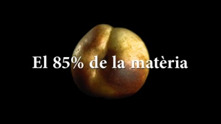 El 85% de la matèria