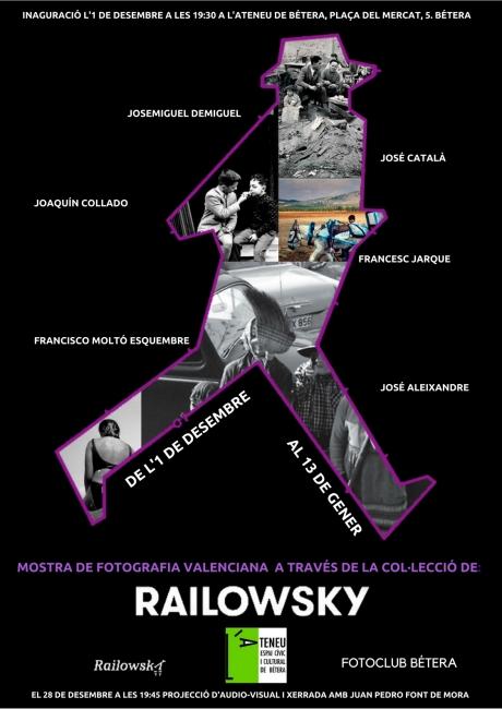 Mostra de fotografia valenciana a través de la Col.lecció Railowsky