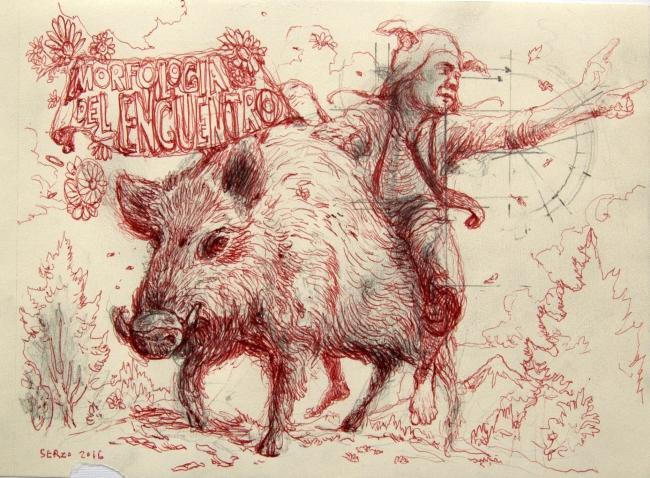 José Luis Serzo, Morfología del Encuentro – Cortesía del artista