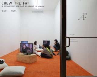 Chew the fat (A Documentary Portrait by Rirkrit Tiravanija)