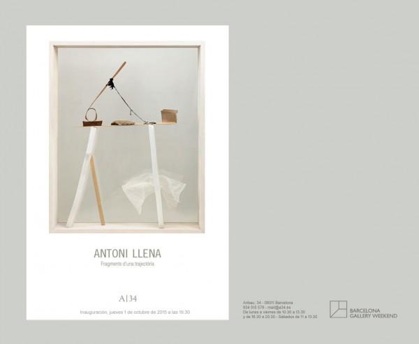 Fragmentos de una trayectoria   Ir al evento: 'Fragmentos de una trayectoria'. Exposición de Escultura, Pintura en Galería A34 / Barcelona, España