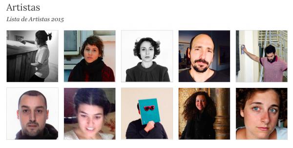 Pantallazo de la web de Art Situacions