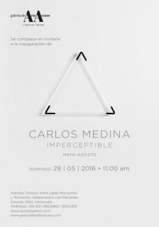 Carlos Medina, Imperceptible