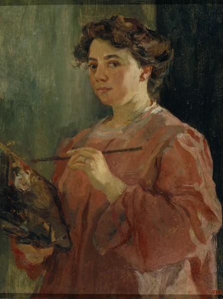 Lluïsa Vidal, Autoretrato, 1899
