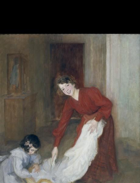 Lluïsa Vidal, Las amas de casa, 1905