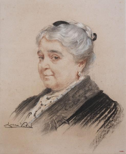 Lluïsa Vidal, Retrato de la escritora Dolors Montserdà, 1914