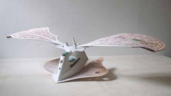Electro no domesticado . A.Lortet 2014. 1 premio II certamen Reciclar Arte 2014.