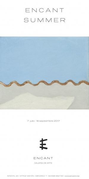 Cartel con obra de Jose Ángel Sintes, Claror