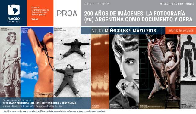 LA FOTOGRAFÍA (EN) ARGENTINA COMO DOCUMENTO Y OBRA
