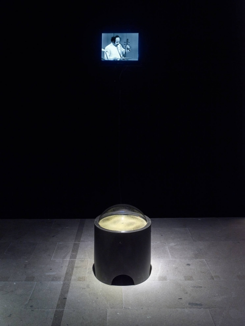 "Kader Attia. Narrative Vibrations, 2017. Mixed media installation. Exhibition view ""Viva arte viva"", 57th Venice Biennial, 2017. Courtesy of the artist, Galleria Continua, Galerie Krinzinger, Lehmann Maupin and Galerie Nagel Draxler. Photo: Simon Vogel."