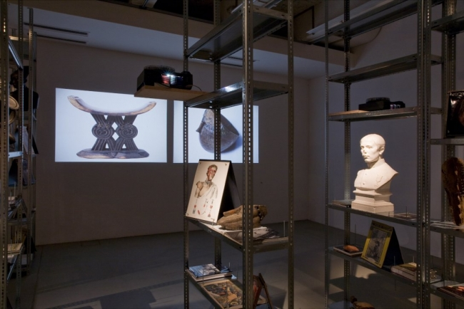 Kader Attia. The Repair from Occident to extra-Occidental Cultures, 2012. Installation view dOCUMENTA 13, at Fridericianum, Kassel, 2012. Commissioned and produced by dOCUMENTA (13) with the support and courtesy of the artist, Galleria Continua, Galerie N