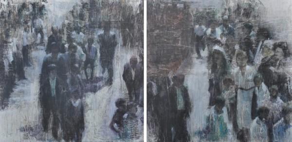 Romería | Ir al evento: 'Raíces'. Exposición de Pintura en Angel Cantero, Galería de Arte / León, España
