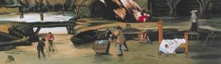 Little Nemo in Secoland (detalle), Óscar Seco. Ganador del Premio Internacional de Pintura Focus-Abengoa 2014