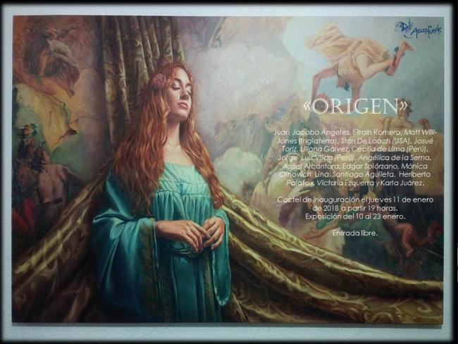ORIGEN. Imagen cortesía Aguafuerte Galería