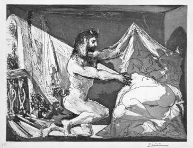 Pablo Picasso – Cortesía del Círculo de bellas Artes de madrid | Ir al evento: 'Picasso y el museo'. Exposición en Círculo de Bellas Artes de Madrid - Sala Goya / Madrid, España