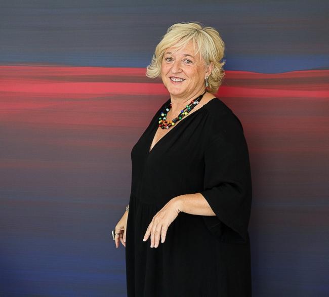 Alicia Ventura Bordes, miembro del Comité Curatorial de SCULTO 18 | Ir al evento: 'Sculto 2018'. Feria de arte de Escultura en Mercado de San Blas - Plaza de Abastos / Logroño, La Rioja, España