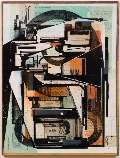 Augustine Kofie, 2018-HR-14x18--Rotary-NARA-cerebrino – Cortesía de Swinton Gallery