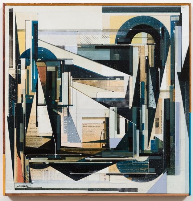 Augustine Kofie, 2018-HR-20x20--Experimentalmente-control – Cortesía de Swinton Gallery