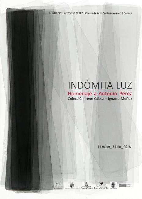 Indómita Luz. Homenaje a Antonio Pérez. Colección Irene Cábez e Ignacio Muñoz