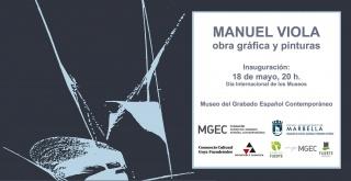 Manuel Viola. Obra gráfica y pinturas