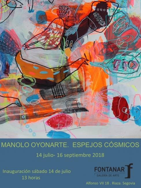 Manolo Oyonarte. Espejos cósmicos