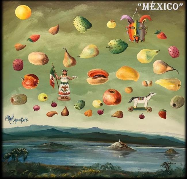 México. Imagen cortesía Aguafuerte Galería