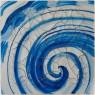 Adriana Varejão, Azulejão (voluta) [Azulejão (volute)], 2016, oil and plaster on canvas, 70 7/8 × 70 7/8 inches (180 × 180 cm) © Adriana Varejão. Photo by Vicente de Mello