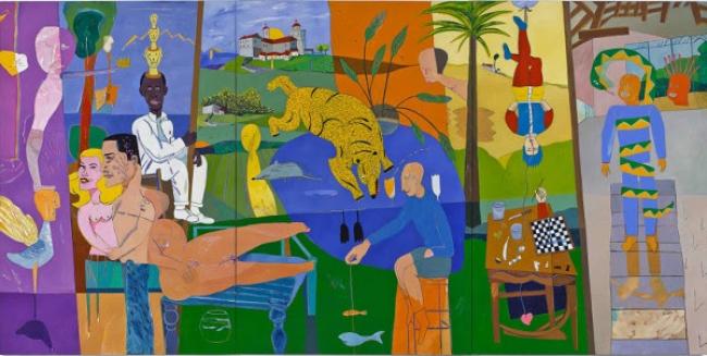 Santos Iñurrieta | Ir al evento: 'Ke usted lo pase bien'. Exposición de Pintura en Artium - Centro Museo Vasco de Arte Contemporáneo / Vitoria-Gasteiz, Álava, España