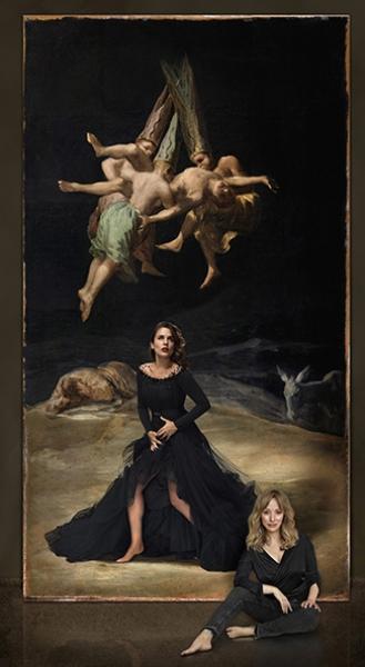 Adriana Ugarte y Goya. A partir de Francisco de Goya. Vuelo de Brujas, hacia 1798. ©Museo Nacional del Prado, Madrid. © Denise de la Rue. 2017