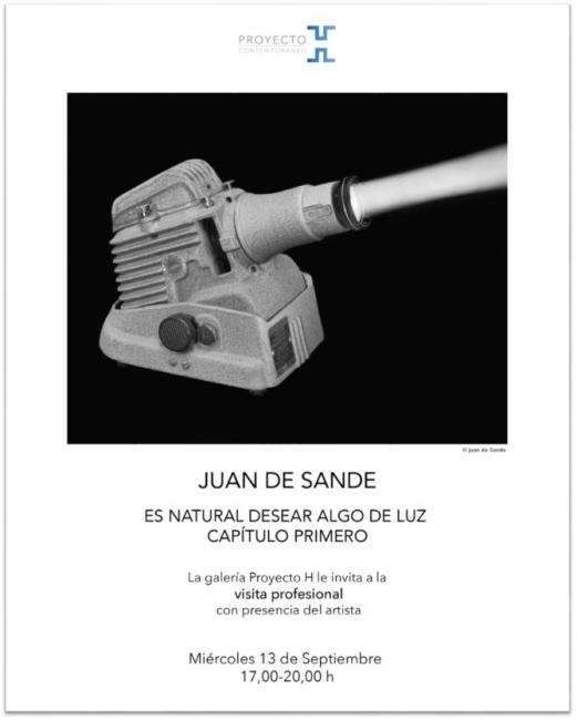 Juan de Sande, Es natural desear algo de luz. Capítulo primero