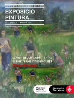 Invitación de la exposición individual de Silvia G.Armesto