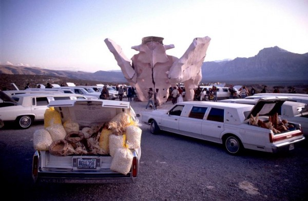 Miralda, Honeymoon (Wedding Ceremony), Las Vegas, 1992 ©Foto: J. Ollé