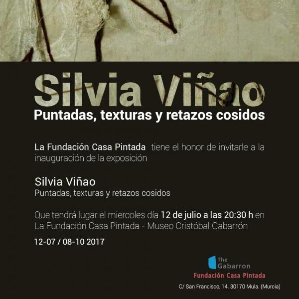 Silvia Viñao. Puntadas, texturas y retazos cosidos